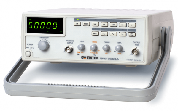 GW Instek: GW-GFG-8250A: 5MHz Function Generator with Counter