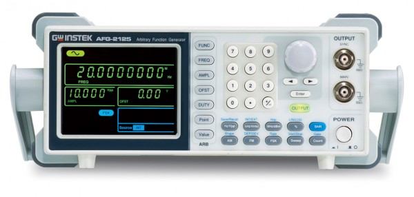 25 MHz Arbitrary Funktionsgenerator - AM/FM/FSK/Sweep - Counter