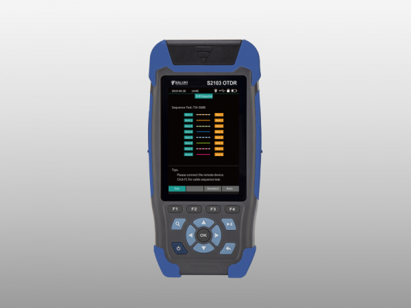 Mini-pro Optical Time Domain Reflectometer (RJ45/Optical Fiber)