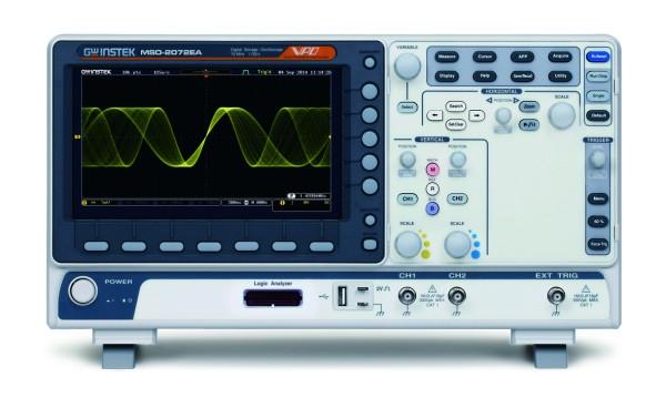 GW Instek GW-MSO-2072EA: Mixed Signal Oscilloscope - 70MHz - 2 Channels - 1GSa/s - 10M Memory - 120,