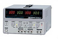 4-Kanal Power Supply - 0...30 V/3A - 2,2...5,2 V/1 A - 8...15 V/1A