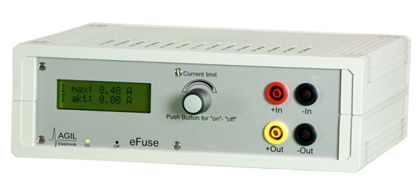 Agil Elektronik eFuse2, 200V, 10A The security switch eFuse2 acts as a fuse in the bias feed, p