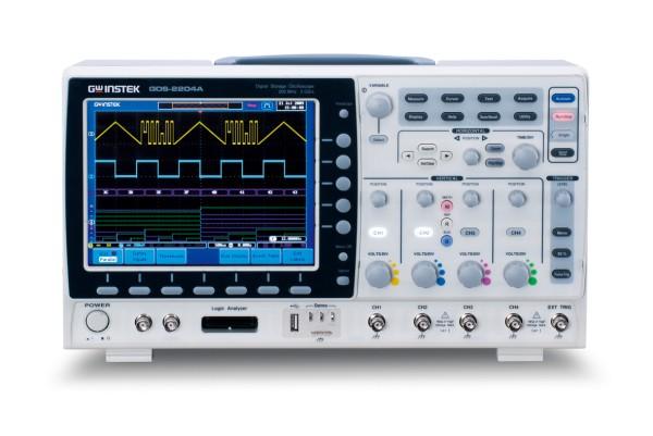 Digital-Oszilloskop - 70 MHz - 4 Kanäle - 2 GS/sec - 2 M Speicher