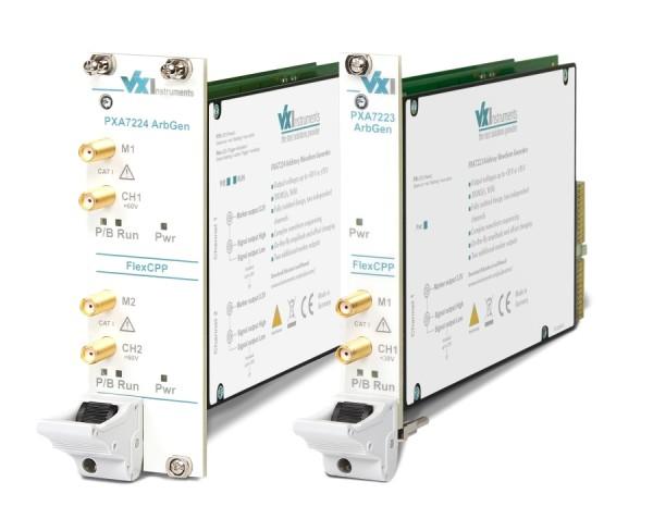 VX Instruments VX-PXA7222: PXI Arbitrary Function Generator - 100 MSa/s - 16Bit - 2 Channel - non fl