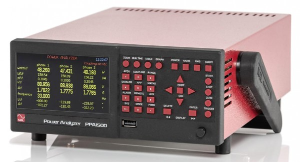 High Performance Compact Power Analyzer | 3 Phases, 20 A, DC~1 MHz