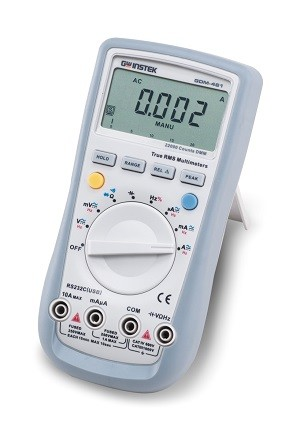 GW Instek GW-GDM-461: Hand-Held Digital Multimeter - 22,000 Counts - True RMS Measurement - RS-232C