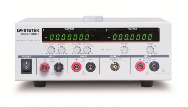 GW Instek GW-PCS-1000i: Isolated High Precision Current Shunt Meter