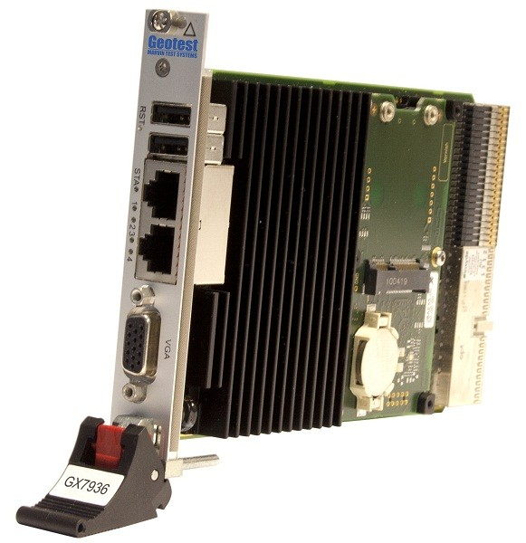 Marvin Test Solutions: MV-GX7936-214096: 3U Single Slot Embedded Controller for GX73xx Chassis. 2.1