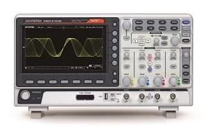 GW Instek GW-MSO-2074E: Mixed Signal Oscilloscope - 70MHz - 4 Channels - 1GSa/s - 10M Memory - 120,0