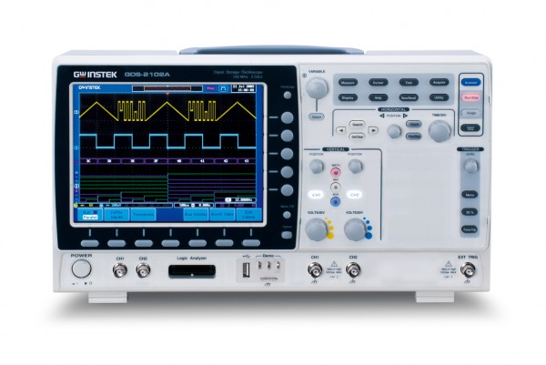 Digital-Oszilloskop - 300 MHz - 2 Kanäle - 2 GS/sec - 2 M Speicher
