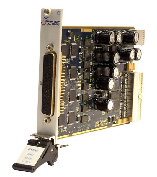 Marvin Test Solutions: MV-GX1649: Analog Output / Arbitrary Waveform Generator-PXI-Karte