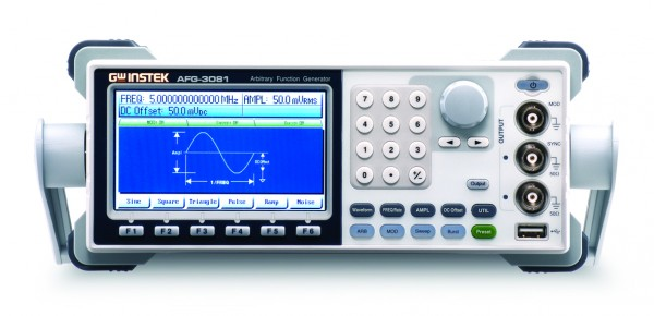 Arbitrary Function Generator | 50 MHz, 1 Channel