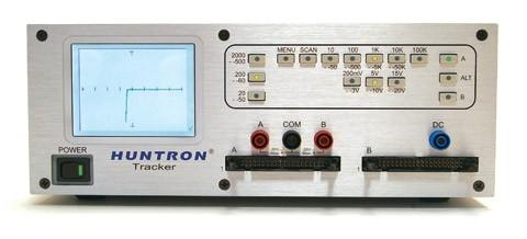 Huntron Tracker HU-2800S Tracker zum Test von bestückten Boards im ausgeschalteten Zustand Einge