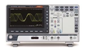 GW Instek GW-MSO-2202EA: Mixed Signal Oscilloscope - 200MHz - 2 Channels - 1GSa/s - 10M Memory - 120