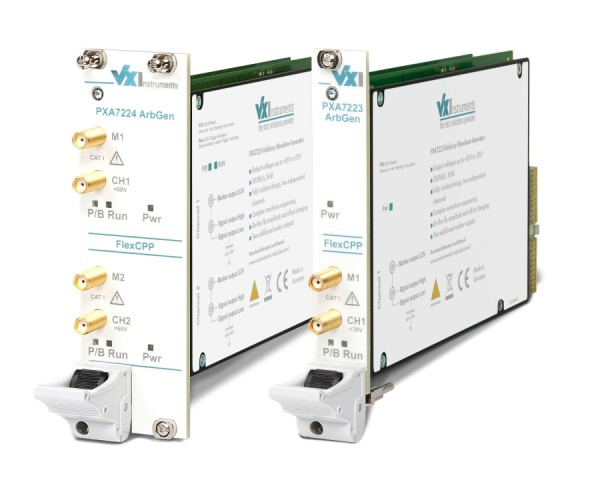 VX Instruments VX-PXA7224: PXI Arbitrary Function Generator - 100 MSa/s - 16Bit - 2 Channel - floati