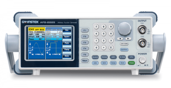 Arbitrary Function Generator | 25 MHz, 2 Channel