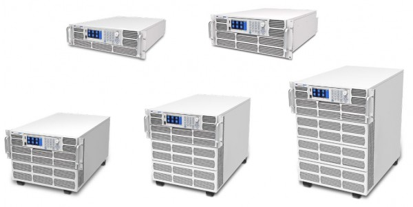 High Power DC Electronic Loads 3.4kW to 26.4kW / 264kW