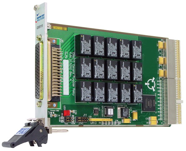 Marvin Test Solutions: MV-GX6115: 3U PXI 15 Channel high-current relay card with 3 additional relay