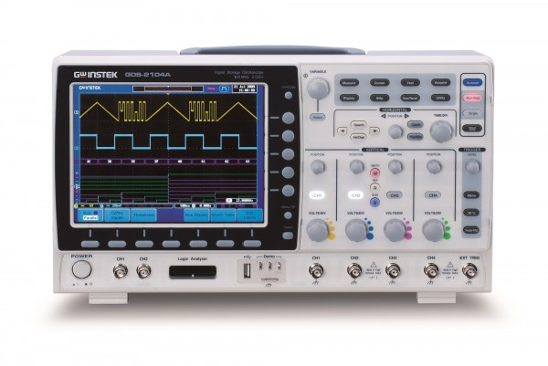 Digital-Oszilloskop - 100 MHz - 4 Kanäle - 2 GS/sec - 2 M Speicher