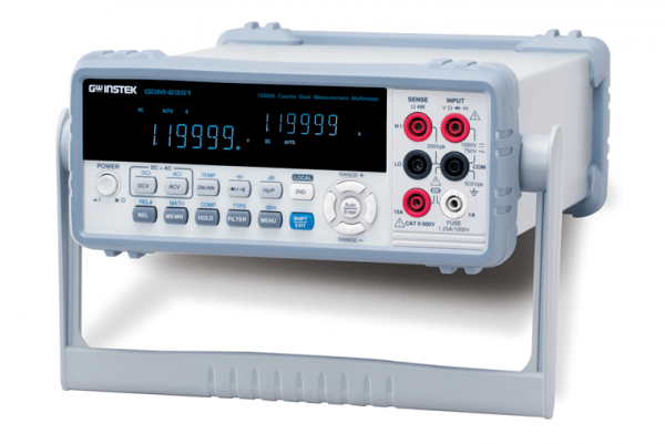 GwInstek GW-GDM-8351: Digital Multimeter - 5 1/2 Digit - Dual Measurement - Dual Display