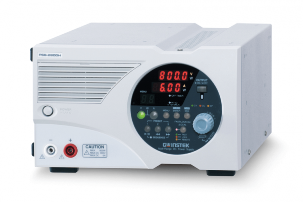 GW Instek: GW-PSB-2800L: Power Supply DC- Programmable - Multi-Range - 80V / 80A / 800W