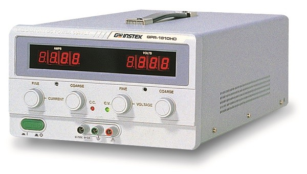GwInstek, Single Output, linear DC Power Supply, 180W, 0 ~ 60V, 0 ~ 3A