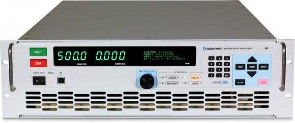 Programmable DC Load | 7,5 kW 1Ph, 500 V