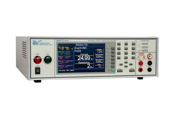 Associated Research AR-8256 OMNIA II, Hipot 6-in1 Safety Tester, 500VA AC Hipot, DC Hipot, Insulatio