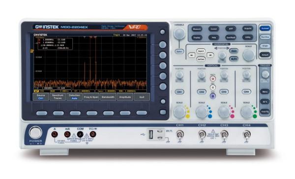 GW-MDO-2204EX Mixed Domain Oscilloscope