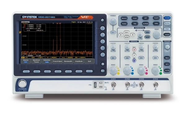 GW-MDO-2074EG Mixed Domain Oscilloscope