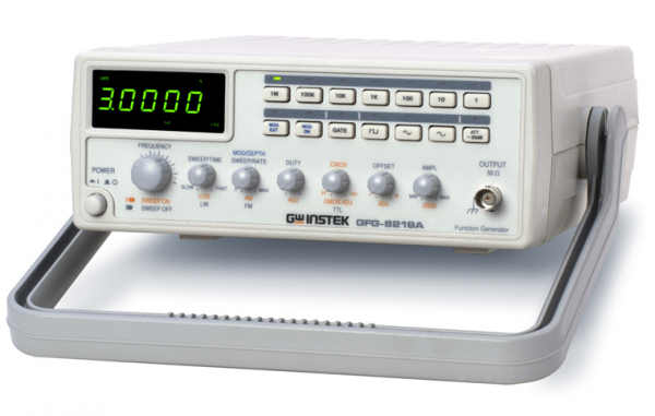 GW Instek: GW-GFG-8219A: 3MHz Function Generator with Counter, Sweep Mode & AM/FM Modulation