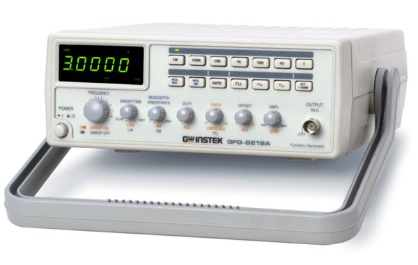 Signalgenerator | 3 MHz, Zähler, Modulation
