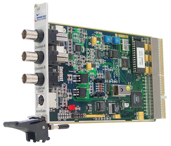 Marvin Test Solutions: MV-GTX2220: 1.3 GHz Measurement Time Interval Counter PXI Card