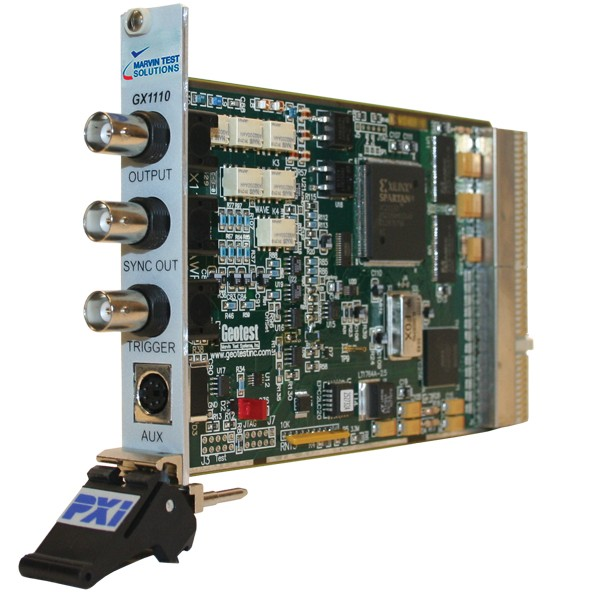 Marvin Test Solutions: MV-GX1110: 100MS/s Single Channel DDS Function Generator/AWG PXI Card