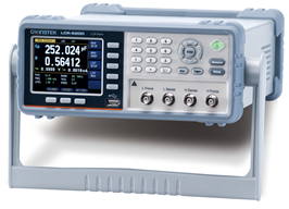 GW Instek GW-LCR-6020: Precision LCR Meter - 10Hz~20kHz - ±0.01% - 4 digits resolution