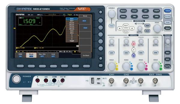 GW-MDO-2104EX Mixed Domain Oscilloscope