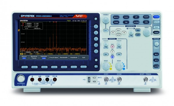 GW-MDO-2072EX Mixed Domain Oscilloscope