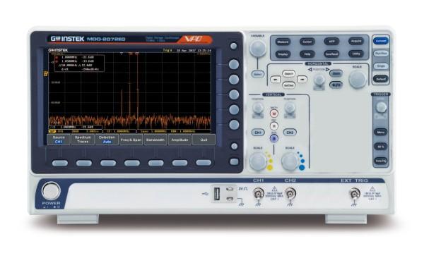 GW-MDO-2072EG Mixed Domain Oscilloscope