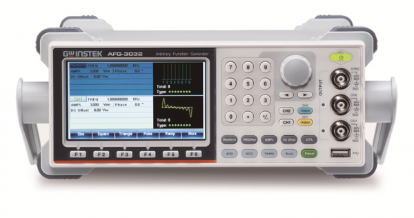 Arbitrary Function Generator | 30 MHz, 2 Channel