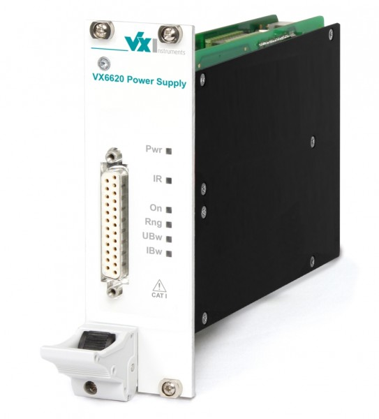 VX Instruments VX-VX6620-60: cPCI System Power Supply - ±60V - ±0.2A - current source
