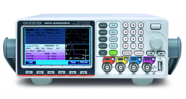 Arbiträr-Funktionsgenerator   60 MHz, 2+3 Kanal