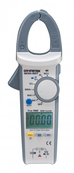 GW Instek GW-GCM-407: Digital Clamp Meter - True RMS Measurement