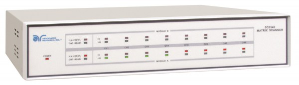 Associated Research AR-SC6540, Scanner / Multiplexer for Safety Test: Hivolt Channels for Withstand,