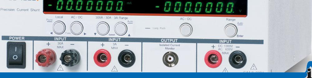 Präzisions Strom-Shunt Messgeräte