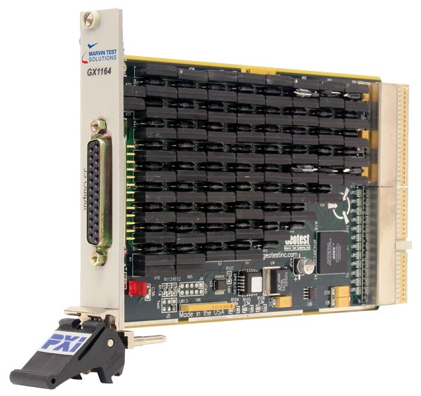 Marvin Test Solutions: MV-GX1164-0.5: Programmable Resistor PXI Board, 4 Channels 0.5 Ohm to 32 kOhm