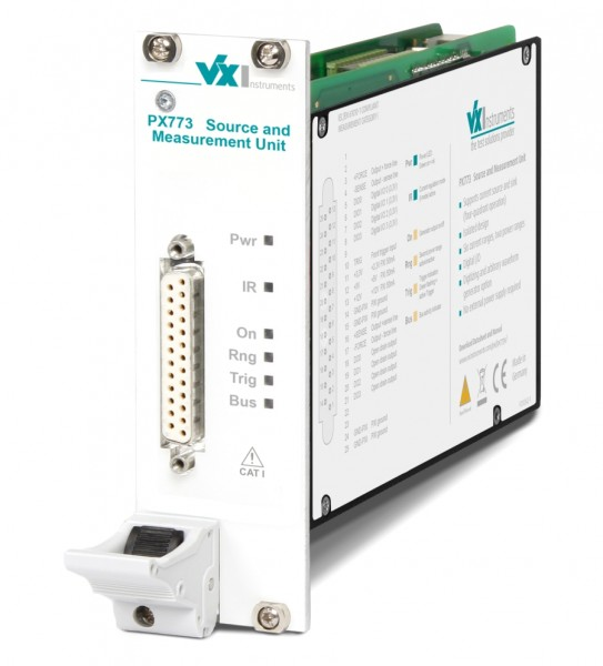 VX Instruments VX-PX7734: PXI Source Measurement Unit with +/-40V, +/-0.25A