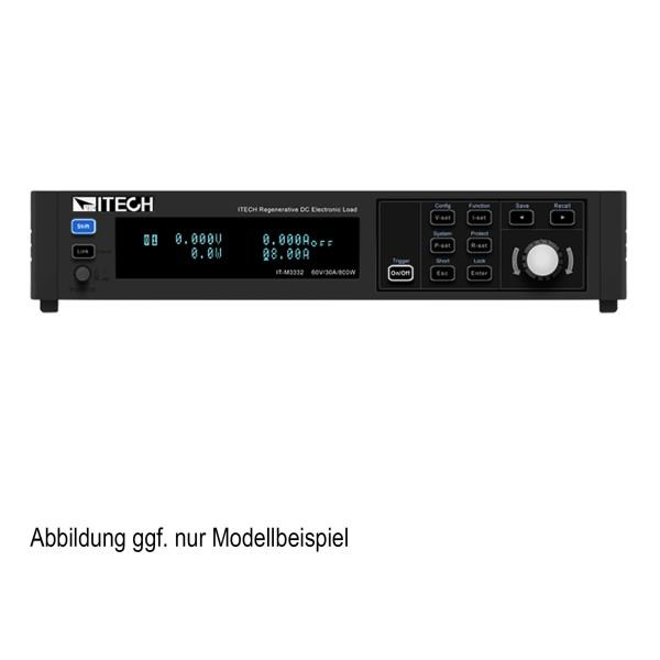 Regenerative elektronische DC-Last| 800 W, 30 A, 60 V