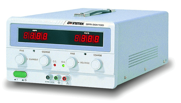 GwInstek, 35V/10A Single Output Linear DC Power Supply