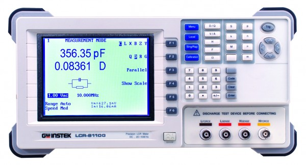 Präzisons LCR Meter | 10 MHz, 6 digits