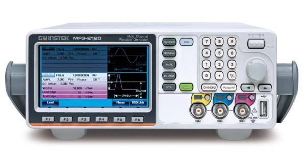 GW Instek: GW-MFG-2120: Multi-Kanal-Funktionsgenerator – 2 simultane Kanäle - 1 Arbiträr-Funkt
